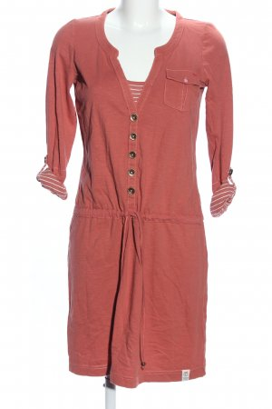 QS by s.Oliver Jerseykleid hellorange Casual-Look