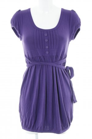 QS by s.Oliver Jerseykleid lila Casual-Look