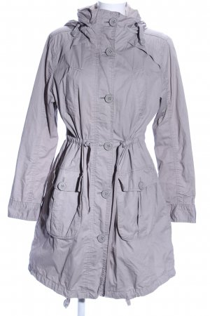 QS by s.Oliver Hooded Coat light grey casual look