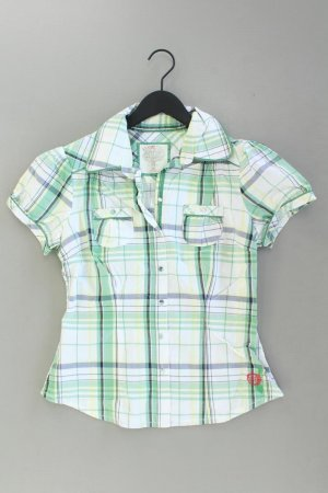 QS by s.Oliver Checked Blouse natural white