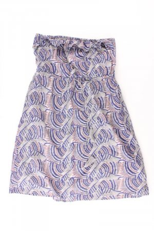 QS by s.Oliver Kleid Größe 38 grau aus Baumwolle