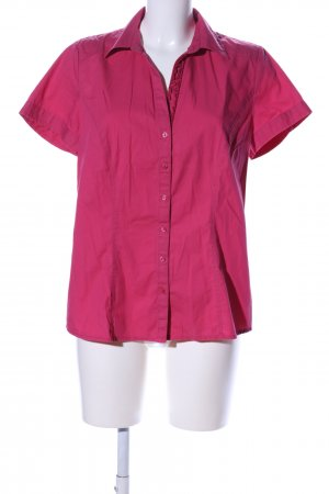 QS by s.Oliver Kurzarm-Bluse pink Casual-Look