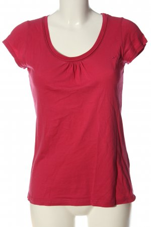QS by s.Oliver T-Shirt rot Casual-Look