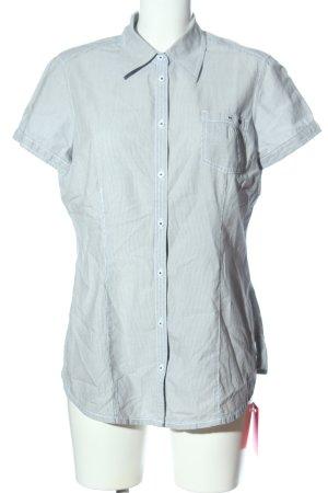 QS by s.Oliver Camisa de manga corta negro-blanco estampado a rayas look casual