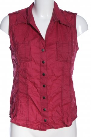 QS by s.Oliver Kurzarmhemd rot Casual-Look
