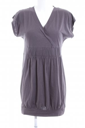 QS by s.Oliver Kurzarmkleid lila Casual-Look
