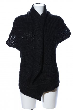 QS by s.Oliver Short Sleeve Knitted Jacket black casual look