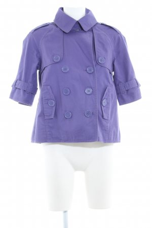 QS by s.Oliver Kurzjacke lila Casual-Look