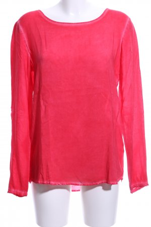 QS by s.Oliver Langarm-Bluse rot Casual-Look