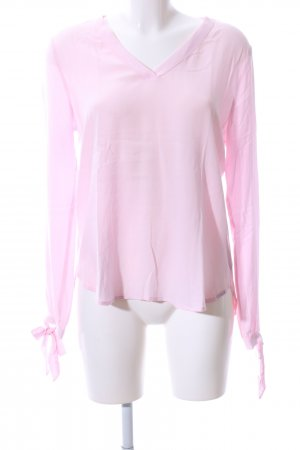 QS by s.Oliver Langarm-Bluse pink Casual-Look