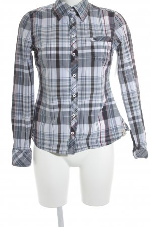 QS by s.Oliver Langarm-Bluse Karomuster Casual-Look