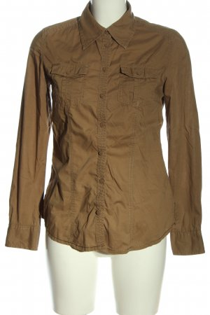 QS by s.Oliver Langarmhemd braun Casual-Look