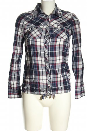 QS by s.Oliver Langarmhemd Karomuster Casual-Look