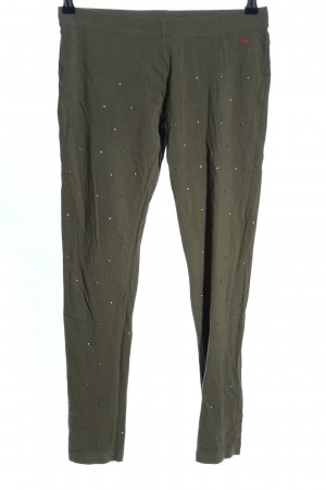 QS by s.Oliver Leggings khaki Casual-Look