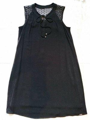QS by S.Oliver leichtes Sommer Kleid Gr. M schwarz NEUwertig