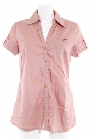 QS by s.Oliver Long-Bluse roségoldfarben Casual-Look