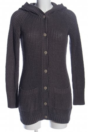 QS by s.Oliver Knitted Coat black casual look