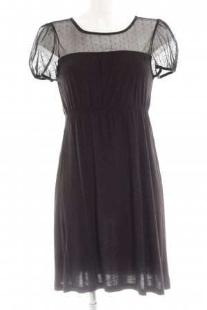 QS by s.Oliver Minikleid lila-schwarz Party-Look