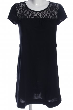 QS by s.Oliver Minikleid schwarz Casual-Look