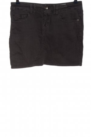 QS by s.Oliver Mini rok bruin casual uitstraling