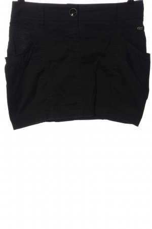 QS by s.Oliver Mini rok zwart casual uitstraling
