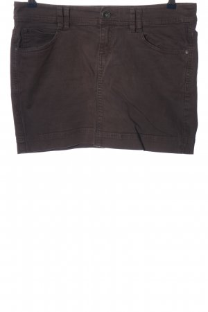 QS by s.Oliver Minirock braun Casual-Look