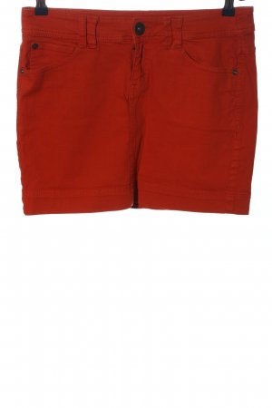 QS by s.Oliver Minirock hellorange Casual-Look