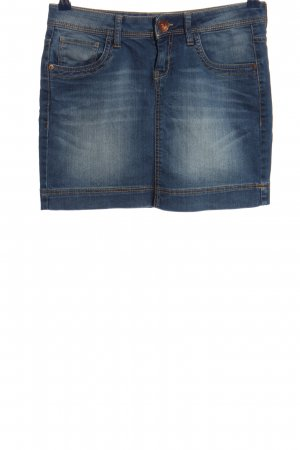 QS by s.Oliver Minirock blau Casual-Look