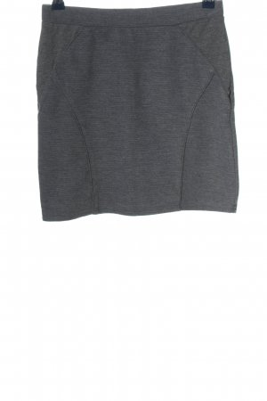 QS by s.Oliver Mini rok lichtgrijs gestippeld casual uitstraling
