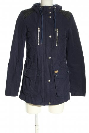 QS by s.Oliver Outdoor jack blauw casual uitstraling