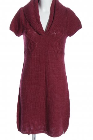 QS by s.Oliver Pulloverkleid rot Casual-Look