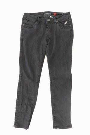 QS by s.Oliver Regular Jeans Größe 38 schwarz aus Baumwolle