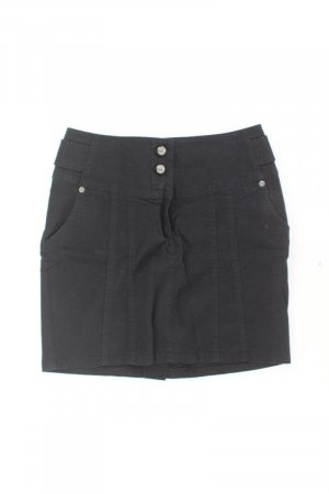 QS by s.Oliver Skirt black cotton