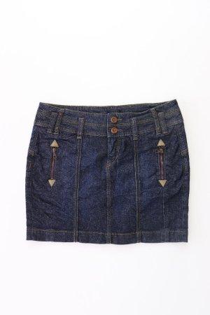 QS by s.Oliver Rock Größe W38 blau aus Baumwolle