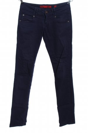 QS by s.Oliver Drainpipe Trousers blue casual look