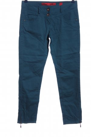 QS by s.Oliver Pantalone a sigaretta blu stile casual
