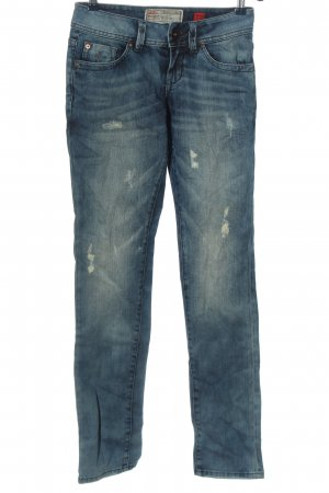 QS by s.Oliver Jeans a sigaretta blu stile casual