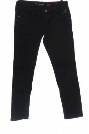 QS by s.Oliver Röhrenjeans schwarz Casual-Look