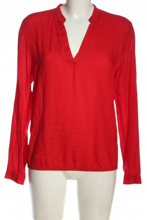 QS by s.Oliver Schlupf-Bluse rot Business-Look