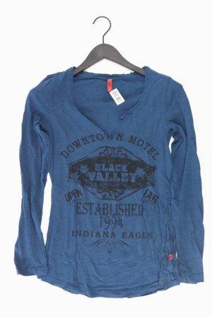 QS by s.Oliver Shirt blau Größe S