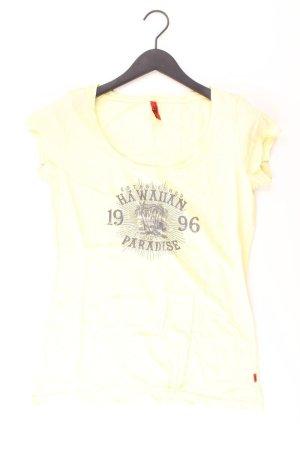 QS by s.Oliver Shirt gelb Größe L