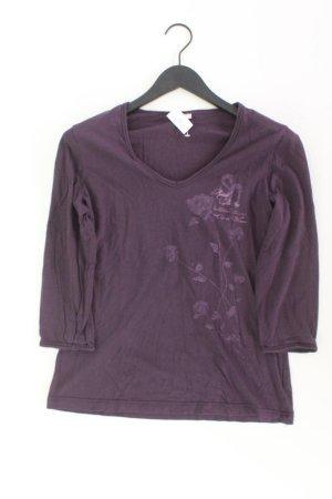 QS by s.Oliver Shirt Größe 42 3/4 Ärmel lila