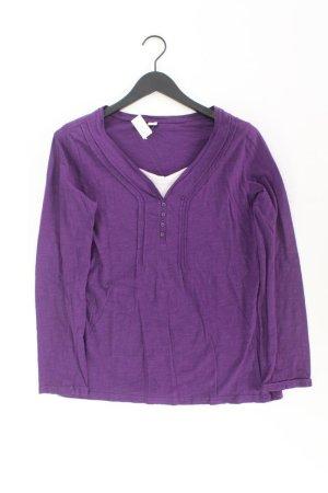 QS by s.Oliver Shirt Größe 44 lila aus Baumwolle