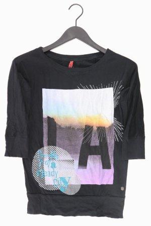QS by s.Oliver Shirt mit Aufdruck schwarz Größe XS