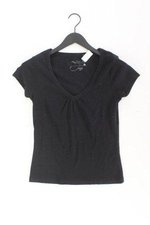 QS by s.Oliver V-Neck Shirt black cotton