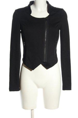 QS by s.Oliver Veste chemise noir style décontracté