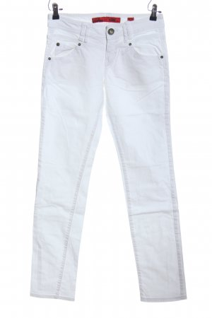 QS by s.Oliver Skinny Jeans weiß Casual-Look