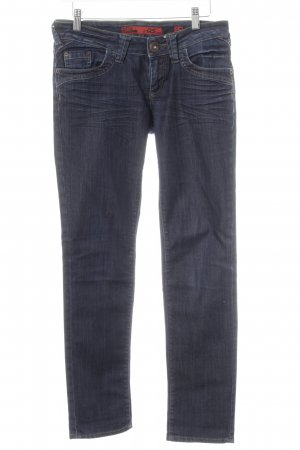 QS by s.Oliver Skinny Jeans dunkelblau Casual-Look