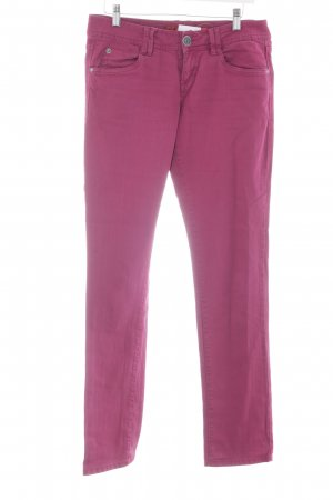 QS by s.Oliver Skinny Jeans violett Casual-Look