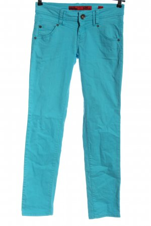 QS by s.Oliver Dopasowane jeansy niebieski W stylu casual